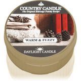 Country Candle Warm & Fuzzy čajová svíčka 42 g