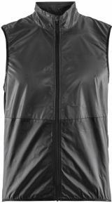 Craft Glow vesta dámská černá 999000 S / Černá