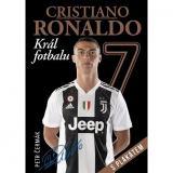 Cristiano Ronaldo Král fotbalu: s plakátem