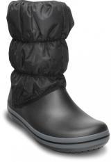 Crocs Winter Puff Boot Women Black/Charcoal 37,5