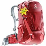 Cyklistický batoh DEUTER Trans Alpine 28 SL cranberry-coral
