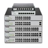 D-Link DGS-1100-26MP 26-Port Gigabit Max PoE Smart Managed Switch including 2 comb ports  , DGS-1100-26MP