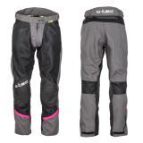Dámské letní moto kalhoty W-TEC Artemisa Black-Grey - XS