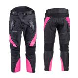 Dámské moto kalhoty W-TEC Kaajla NF-2683 černo-růžová - S