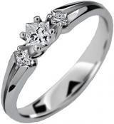 Danfil Luxusní zásnubní prsten DLR2105b 52 mm