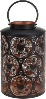 Dekorativní lucerna kovová 25 x 37cm