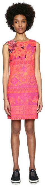 Desigual Dámské šaty Vest Angelina 18SWVW51 3070 42