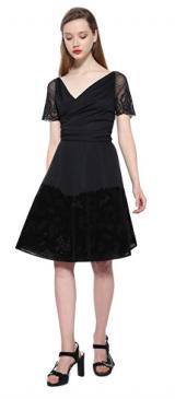 Desigual Dámské šaty Vest Betty 17WWVK68 2000 S