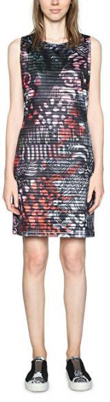 Desigual Dámské šaty Vest Casey 18SWVK42 2000 M