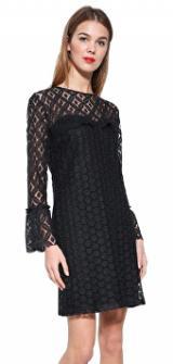 Desigual Dámské šaty Vest Isabel 17WWVWB0 2000 36