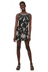 Desigual Dámské šaty Vest Kira Negro 19SWVWB3 2000 40