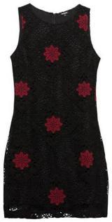 Desigual Dámské šaty Vest Lex Negro 19WWVW57 2000 40