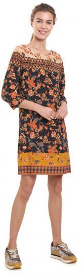 Desigual Dámské šaty Vest Paula Negro 18WWVW30 2000 36
