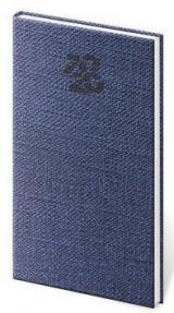 Diář 2020 týdenní kapesní Carpet modrá
