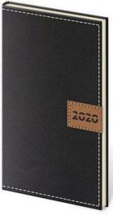 Diář 2020 týdenní kapesní Toledo černá