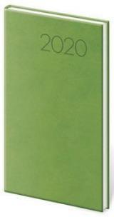 Díář týdenní kapesní Print světle zelená