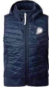 Didriksons1913 dětská vesta DADGET 140 tmavě modrá