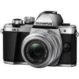 Digitální fotoaparát Olympus E-M10 II   objektiv 14-42mm II stříbrný