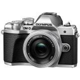 Digitální fotoaparát Olympus E-M10 Mark III, stříbrná/stříbrná   14-42mm