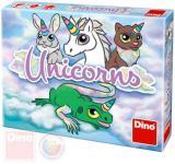 DINO Hra karetní Unicorns cestovní *SPOLEČENSKÉ HRY*