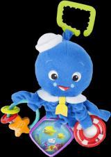 DISNEY BABY Chobotnička na C-kroužku aktivní Octopus™ 0 m
