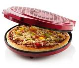 Domácí pec na pizzu DOMO DO9177PZ, průměr 30cm, elektrická, 1450W