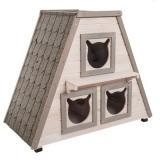 Domek pro kočky Madeira - D 90 x Š 50 x V 75 cm
