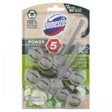 Domestos Power 5 Cucumber & Fresh Leaves Eco Tuhý Wc Blok 2 X 55g