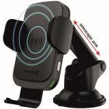 Držák na mobil Swissten S-GRIP W2-HK3 s bezdrátovým nabíjením černý