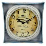 DUE ESSE Nástěnné kulaté hodiny 30 cm Art Home, příbor - zánovní