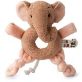 Ebu Slon růžový Chrastítko