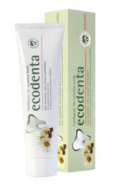 Ecodenta Zubní pasta pro citlivé zuby s heřmánkem, hřebíčkem a Kalidentem  100 ml
