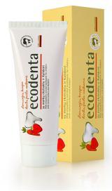 Ecodenta Zubní pasta s jahodovou příchutí pro děti  75 ml
