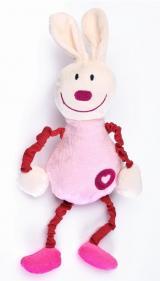 Edukační plyšová hračka Sensillo králíček s pískátkem,Edukační plyšová hračka Sensillo králíček s pískátkem