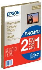 Epson Foto Papír Premium Glossy, a4, 2X15 Listů, 255g/m2, Lesklý