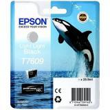 Epson T7609 světle světlá černá