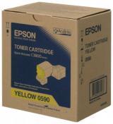 Epson tonerová kazeta AcuLaser C13S050590/ C3900/ CX37/ 6000 stran/ Žlutý, C13S050590