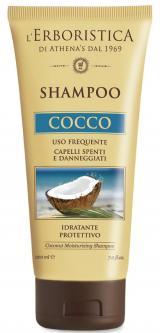 Erboristica Cocco vlasový šampon s kokosovým olejem 200ml,Erboristica Cocco vlasový šampon s kokosovým olejem 200ml