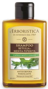 Erboristica Šampon na mastné vlasy a lupy březový 300ml,Erboristica Šampon na mastné vlasy a lupy březový 300ml