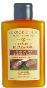 Erboristica Šampon reparační se lněným olejem 300ml,Erboristica Šampon reparační se lněným olejem 300ml