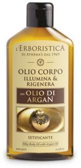 Erboristica Tělový olej regenerační s arganovým olejem 200ml,Erboristica Tělový olej regenerační s arganovým olejem 200ml