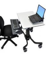 ERGOTRON TeachWell® Mobile Digital Workspace, pojízdný stojan, GRAPHITE GREY, 24-220-055