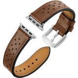 Eternico Apple Watch 38mm / 40mm Leather Band hnědý