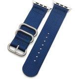 Eternico Apple Watch 38mm / 40mm Nylon Band tmavě modrý