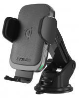 Evolveo Chargee CarWL15, držák pro mobilní telefon do auta s bezdrátovou nabíječkou 15W