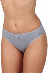 Evona Dámské klasické kalhotky K 178 šedé XL