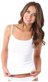 Evona Dámské tílko TOP 7004 bílý XL
