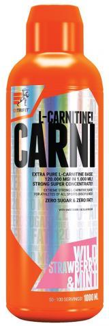 Extrifit Carni 120000 Liquid 1000ml divoká jahoda - mentol,Extrifit Carni 120000 Liquid 1000ml divoká jahoda - mentol