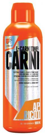 Extrifit Carni 120000 Liquid 1000ml meruňka,Extrifit Carni 120000 Liquid 1000ml meruňka