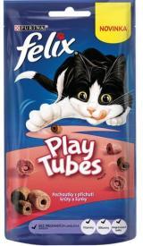 Felix Play Tubes Krůta A Šunka 8X50 G